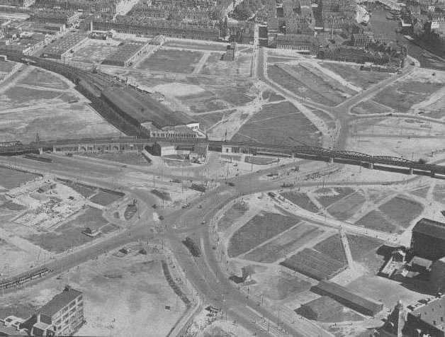 Hofplein in 1945